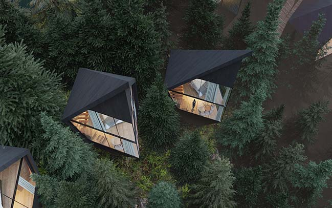 Tree Houses by Peter Pichler Architecture