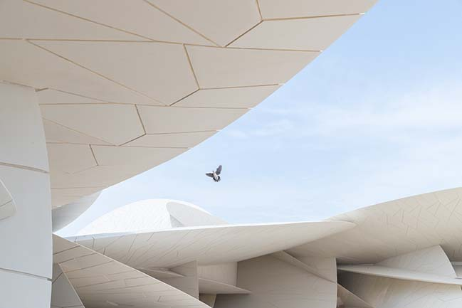 The National Museum of Qatar by Jean Nouvel opens to public