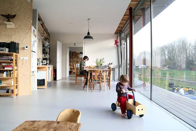 Oosterwold Co-living Complex by bureau SLA and Zakenmaker
