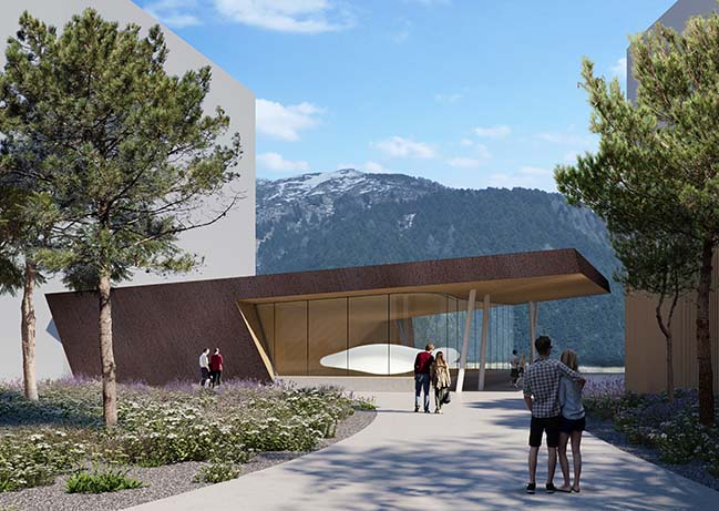 The new Andermatt Concert Hall by Studio Seilern Architects