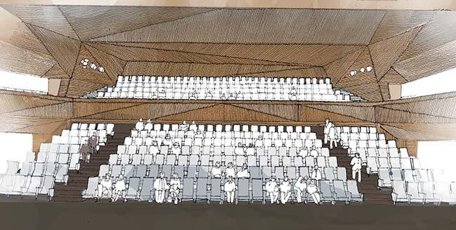 The new Andermatt Concert Hall by Studio Seilern Architects