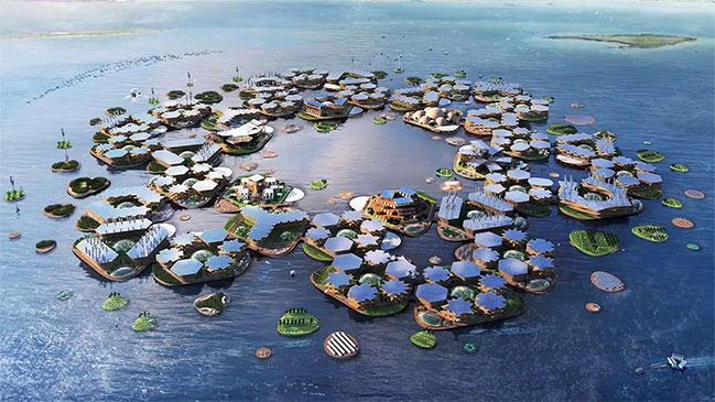 Oceanix City by Bjarke Ingels Group