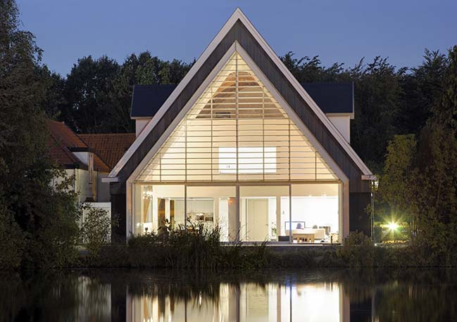 A house in a church by Ruud Visser Architecten