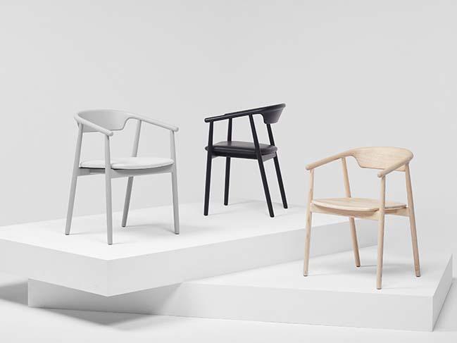 Foster + Partners' Mattiazzi Leva chair unveiled at Milan Design Week