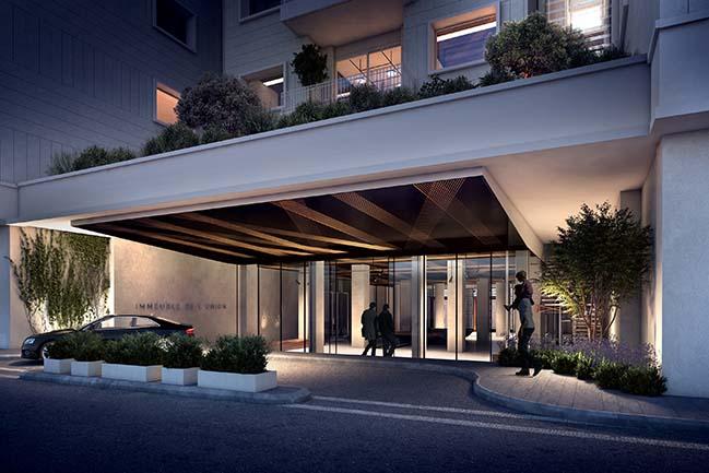 Karim Nader Studio is renovating the Immeuble de l'Union