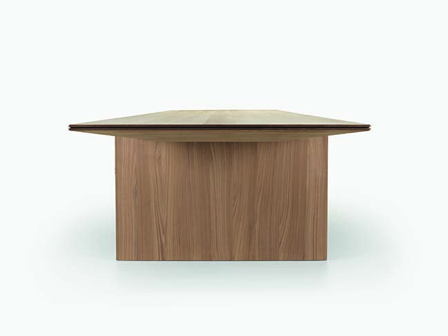 Molteni launches Ava - modular timber table by Foster + Partners