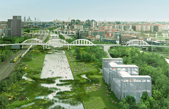 OMA and Laboratorio Permanente win competition for Scalo Farini in Milan