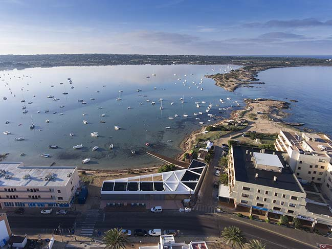 Formentera Water Sports Center by Marià Castelló Architecture