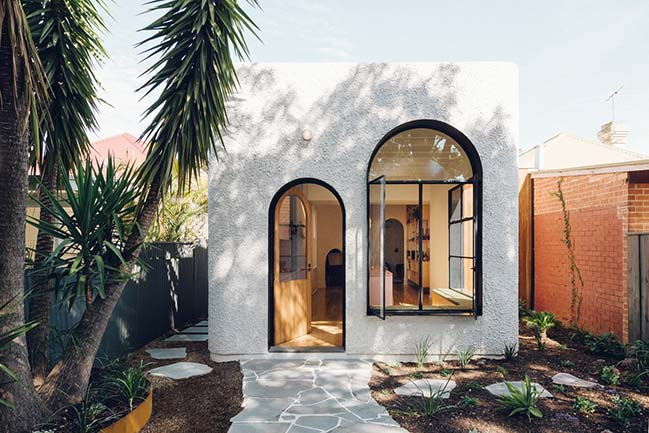 Plaster Fun house by Sans-Arc Studio