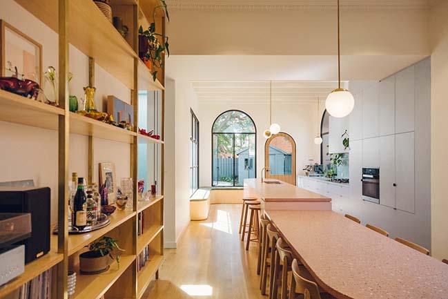Plaster Fun house by Sans-Arc Studio