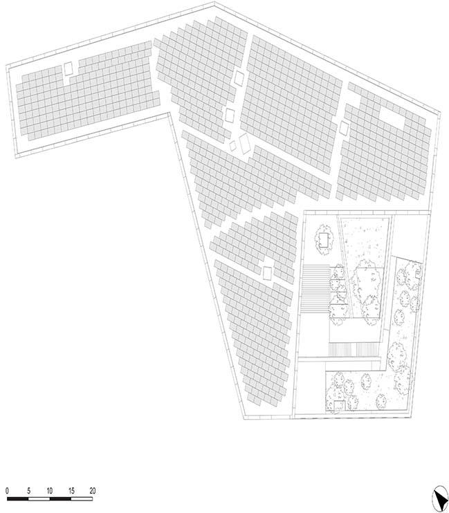 Green Office® ENJOY building in Paris by Baumschlager Eberle Architekten and SCAPE