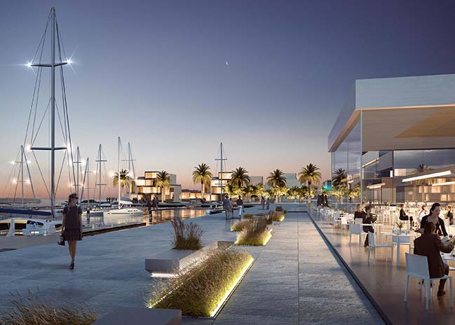 Jubail Port by Ramón Esteve Estudio