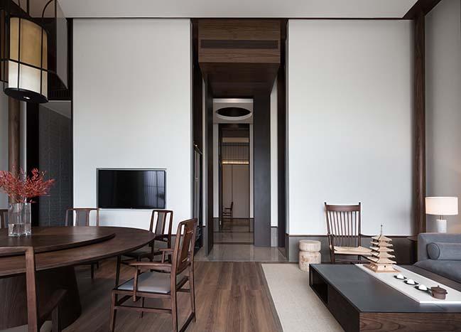 Sui Han San You Restaurant by JINGU PHOENIX SPACE PLANNING ORGANIZATION