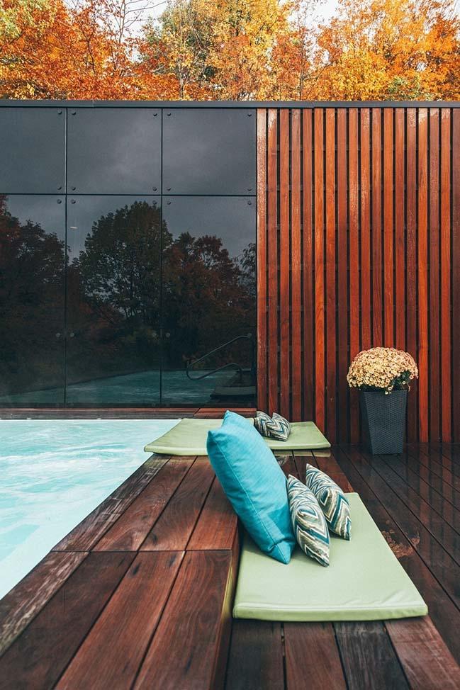West Pavilion by Blouin Tardif Architecture Environnement