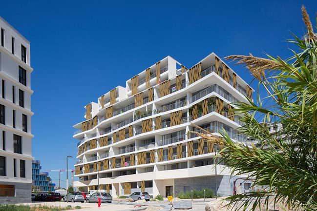 Lez-in-Art - Apartment Housing Complex by NBJ Architectes