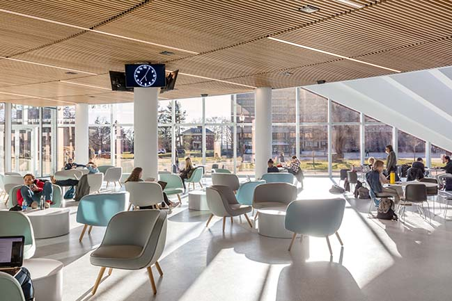 Isenberg School of Management Business Innovation Hub by BIG
