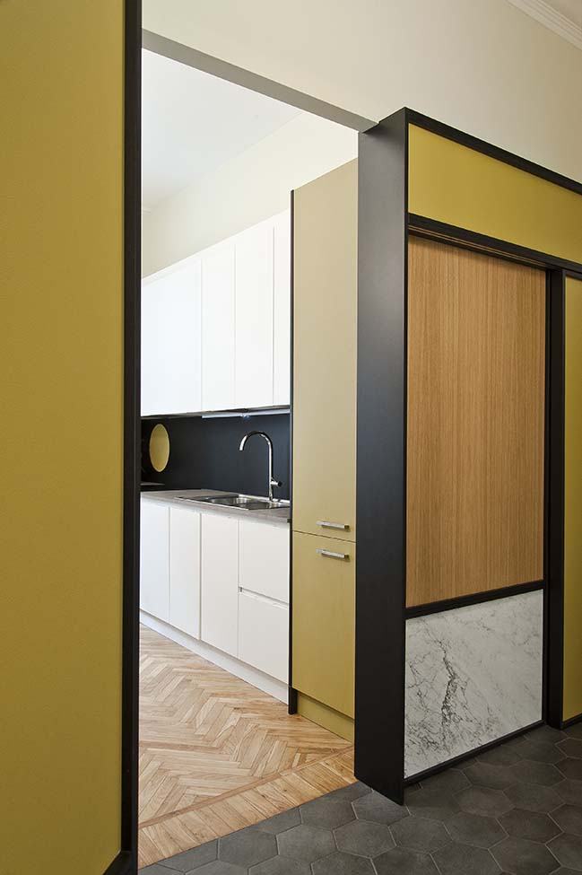 House GP - Wood and Marble by BODA architetti