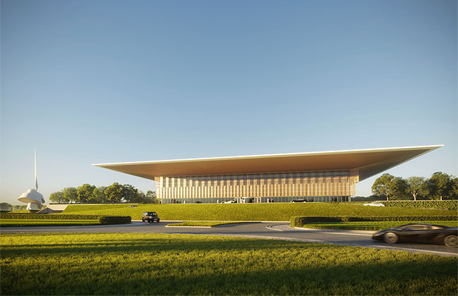Foster + Partners revealed new design for the new House of Wisdom