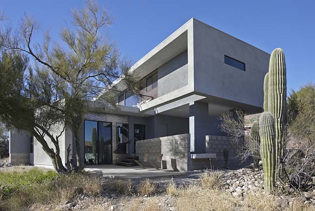 Sentinel House by Kevin B. Howard Architects