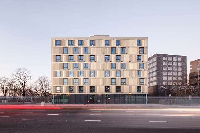 Erasmus Campus Student Housing by Mecanoo
