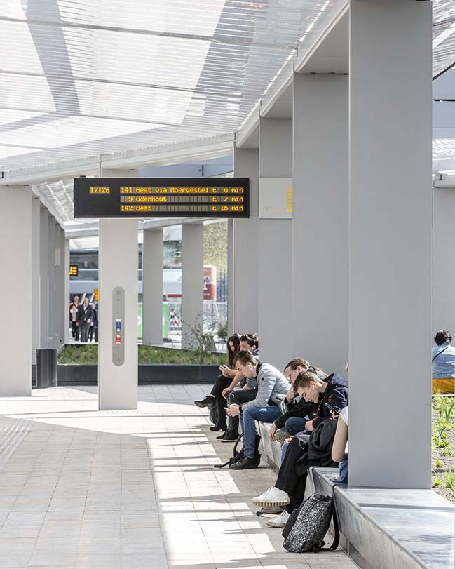 cepezed designs first self-sufficient bus station in The Netherlands
