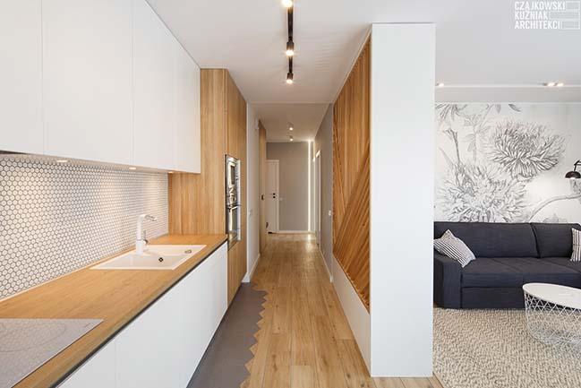 WB2: 57m2 apartment in Katowice by Czajkowski Kuźniak Architekci