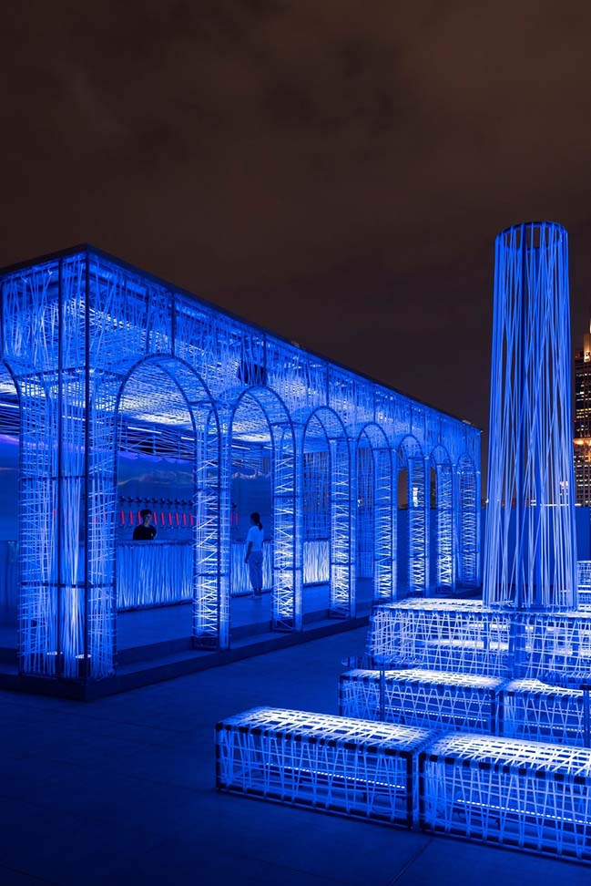 NYX: Rooftop Club in Shanghai by Alberto Caiola Studio