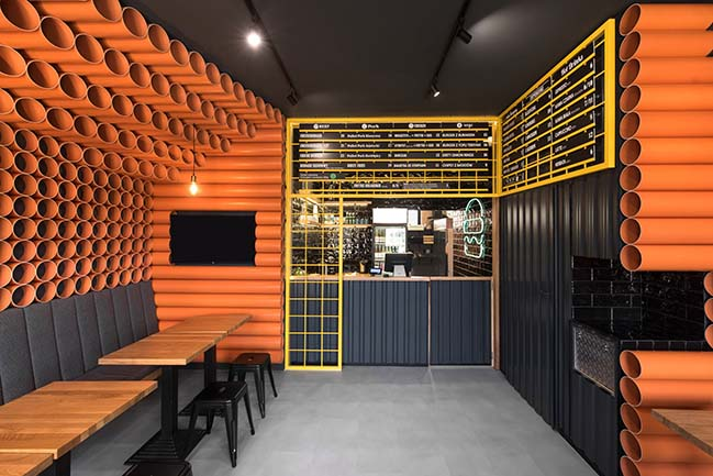ChiChi 4U - a new burger restaurant envisioned by mode:lina