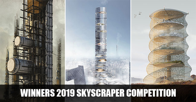 eVolo announces the winners of the 2019 Skyscraper Competition