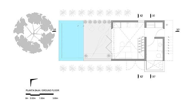 Monte House by TACO taller de arquitectura contextual