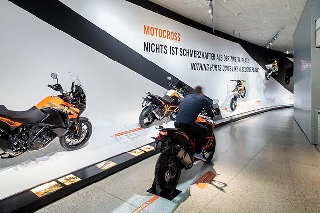 KTM Motohall in Mattighofen by ATELIER BRÜCKNER