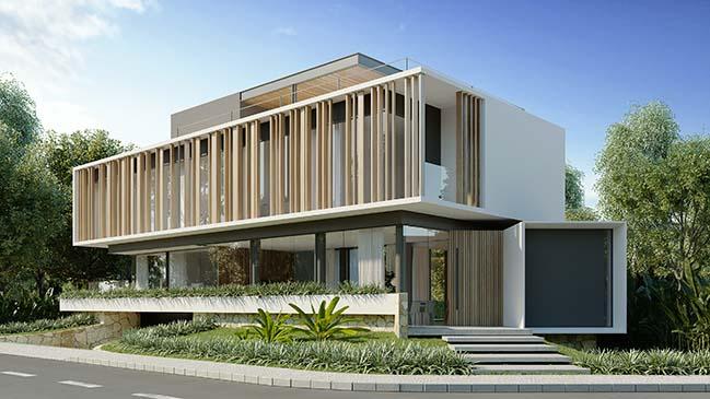 A House by Martins Lucena Arquitetos