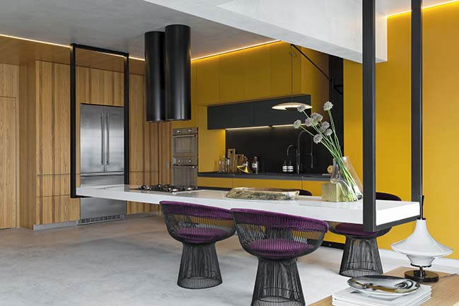 Dijon Kitchen by Diego Revollo Arquitetura