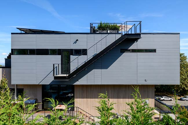 Stack House in Seattle by Lane Williams Architects