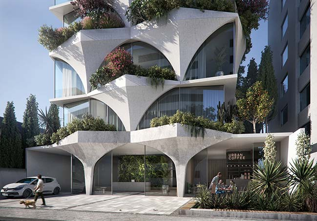 Sunflower Tower by odD+ Architects