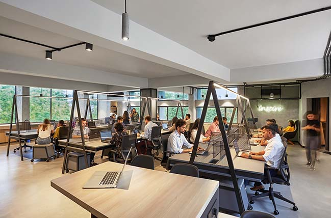 U Share Co Working In New Delhi By Ultraconfidentiel Design