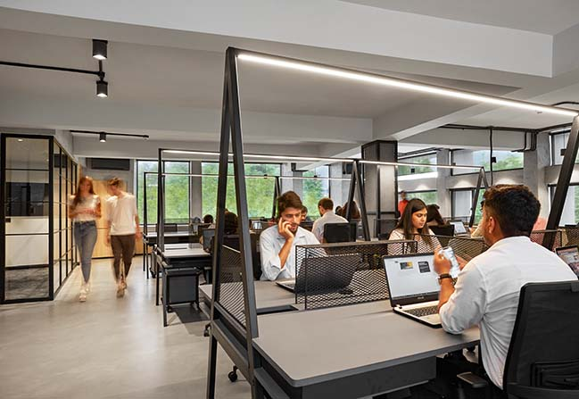 U SHARE: Co-working in New Delhi by Ultraconfidentiel Design