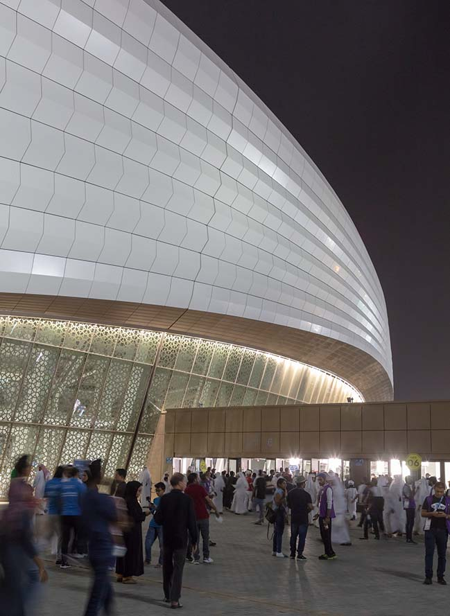 Al Janoub Stadium in Al Wakrah by Zaha Hadid Architects