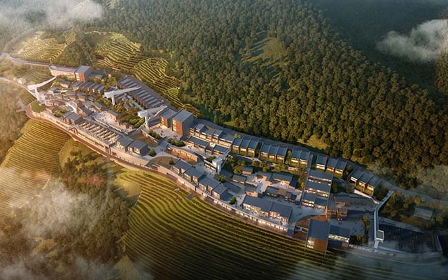 Yangtze Village: Ecological Tourism in Badong by Latitude Architectural Group