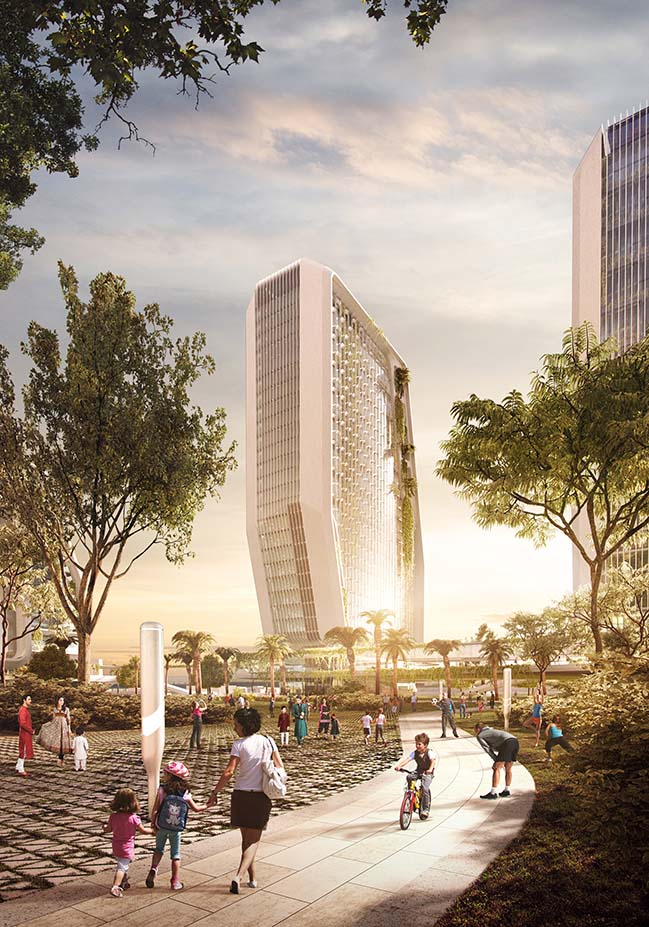 Karle Town Centre in Bangalore by UNStudio