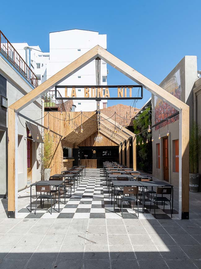 La Bona Nit: Little pizza restaurant in Córdoba by Pendola Arqs