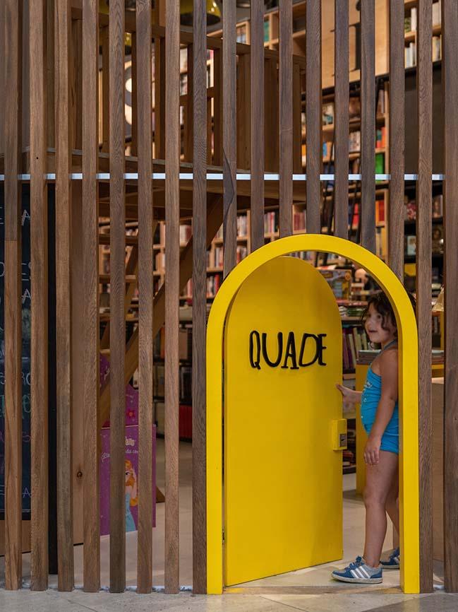 Quade: A bookstore in Córdoba by Estudio Montevideo