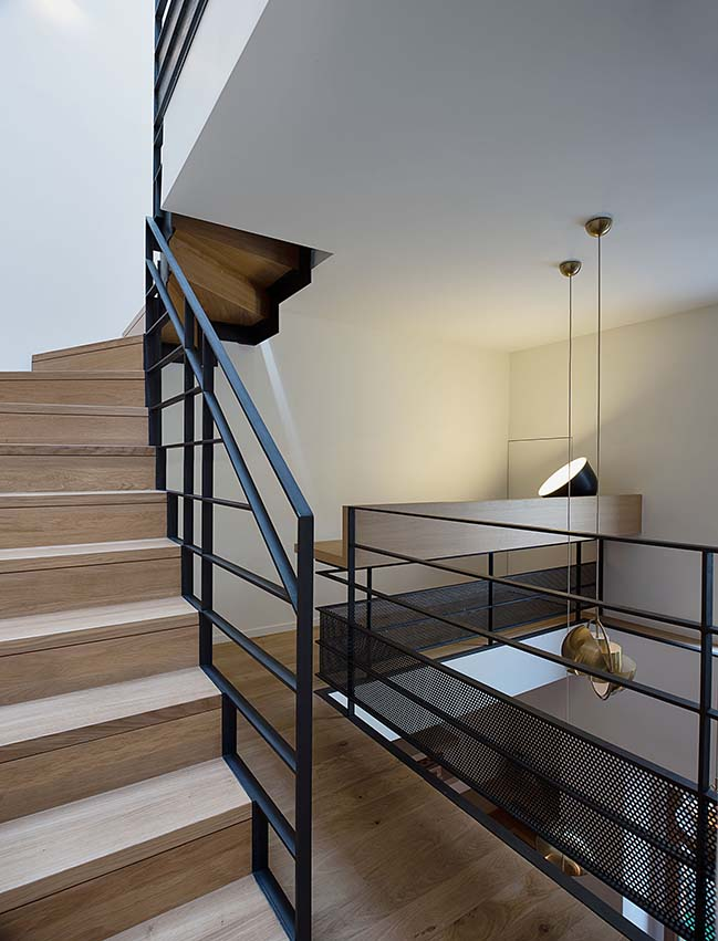 A Family 3 storey House in Paris by Alia Bengana + Capucine de Cointet architects
