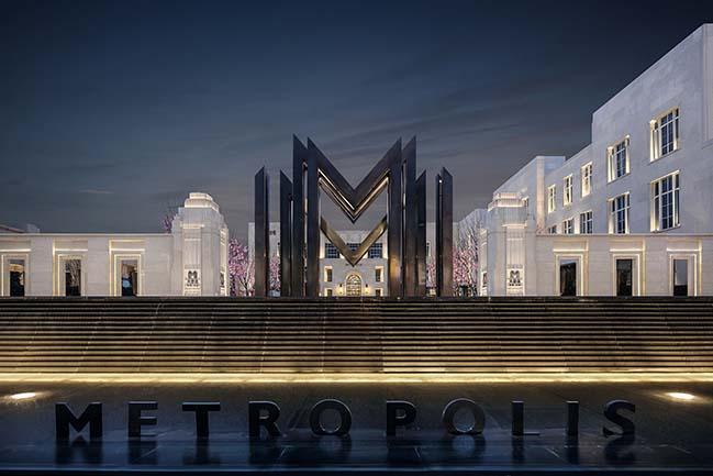 Xian Vanke • Metropolis Sales Center by ONE-CU INTERIOR DESIGN LAB
