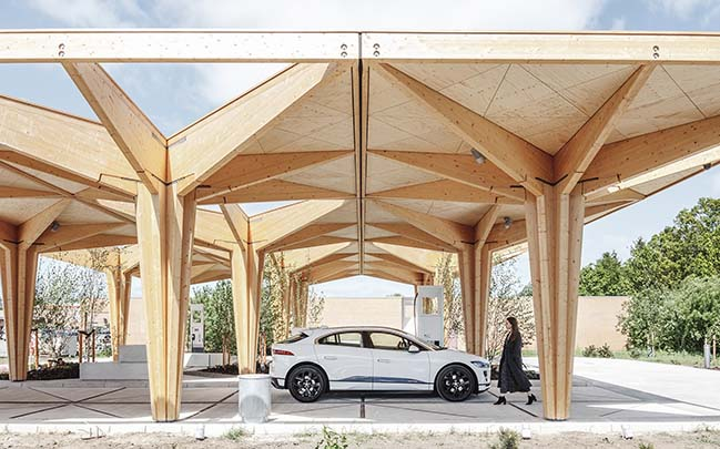 Ultra-Fast Charging Stations for vehicles designed by COBE