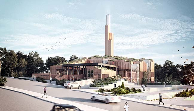 İki Pınar Mosque by rgg Architects