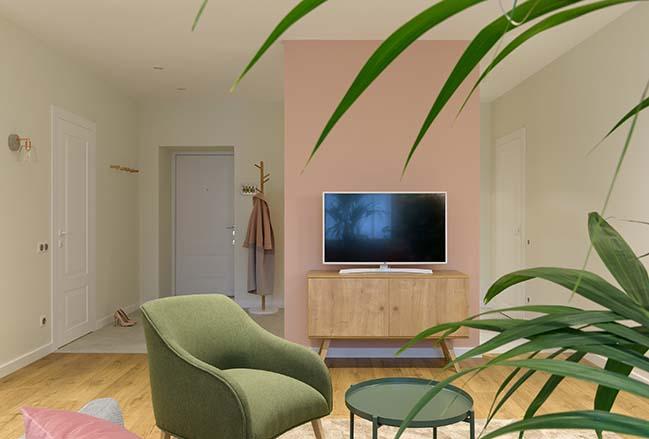 Luxury small apartment in Kyiv by Ki Design