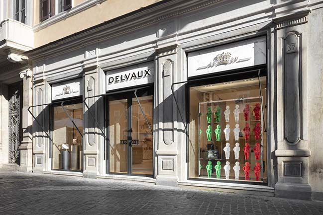 Delvaux in Rome by Studio Vudafieri-Saverino Partners