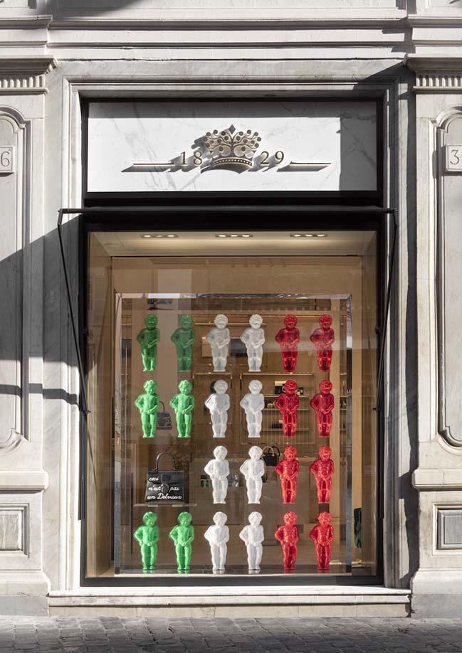 Delvaux in Rome by Studio Vudafieri-Saverino Partners