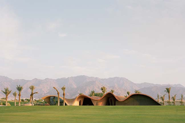 Ayla Clubhouse and Golf Academy by Oppenheim Architecture